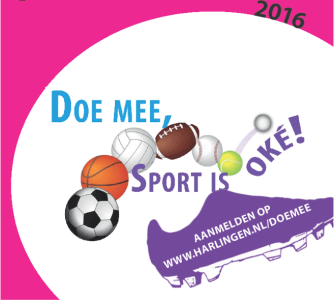 Doe mee sport is oke